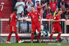 Muenchen kalahkan 10 pemain Bremen