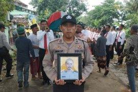 Bertugas amankan TPS, seorang angota Polres Indramayu meninggal