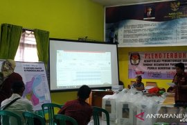 PPK Pangkalbalam rekapitulasi surat suara pemilu dua kelurahan