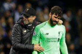 Alisson: Liverpool tidak terpengaruh tekanan di Liga Inggris