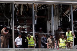 Dunia kutuk serangan bom di delapan lokasi di Sri Lanka