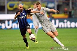 Inter dan Roma imbang di Giuseppe Meazza
