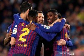 Klasemen Liga Spanyol, Barcelona jaga keunggulan