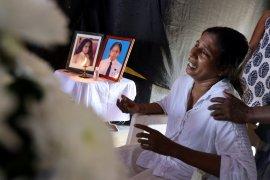 Warga Sri Lanka cari keluarga korban bom di kamar mayat
