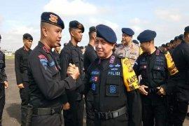 Dua kompi Brimob Jambi ditugaskan ke Jakarta