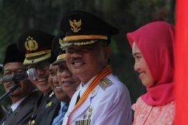 Bupati Asahan Taufan Gama Simatupang meninggal dunia