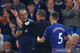 Chelsea ditahan imbang Burnley 2-2
