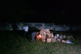 KPU Maluku Tenggara Barat musnahkan surat suara rusak