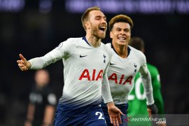 Pesepakbola Eriksen menangkan Tottenham atas Brighton