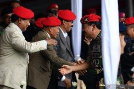 Prabowo bangga dengan kemampuan prajurit Kopassus