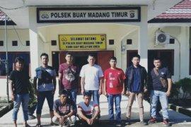 Tim Rajawali Polsek Toboali bekuk tiga pelaku pencurian