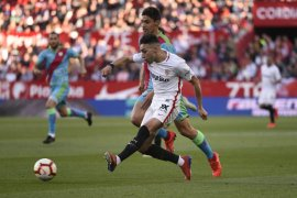 Sevilla taklukkan Vallecano 5-0