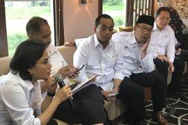 3 Menteri dan Kepala Bekraf tinjau reaktivasi Jalur KA Cibatu-Garut