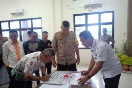TKN-BPN Bangka Barat sepakat tunggu hasil rekapitulasi KPU