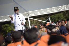 Ridwan Kamil: May Day menyenangkan, kreatif namun aspiratif