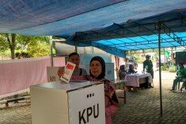 Hanya 132 dari 296 DPT hadiri PSU di TPS 25 Jalan Damai