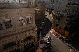 Bottas raih start terdepan diikuti Vettel di GP Azerbaijan