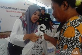 Pertamina salurkan 3.000 paket sembako di Mataram