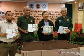 TSI Bogor-PT Smelting luncurkan buku Elang Jawa