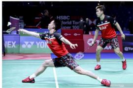 Marcus/Kevin melangkah ke babak dua Indonesia Open