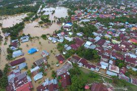 Curah hujan tinggi dan rob picu banjir Bengkulu