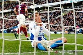 Perolehan poin vs Newcastle tak selamatkan Brighton dari ancaman degradasi
