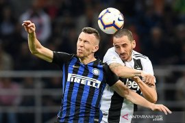 Inter lawan Juventus berakhir Imbang 1-1