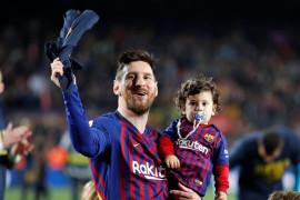 Rakitic sebut Lionel Messi pemain terbaik sepanjang sejarah