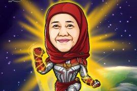 Gubernur Jawa Timur juga kena demam Avengers