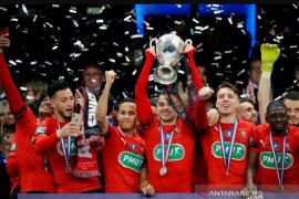 Taklukkan PSG lewat adu penalti, Rennes juara Piala Prancis