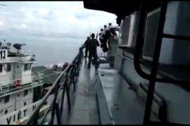 Kapal TNI-AL benturan dilaut Natuna dengan kapal Vietnam
