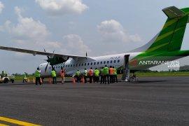 Citilink terbang perdana rute Jember-Surabaya di Bandara Notohadinegoro
