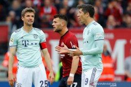Munchen gagal perlebar jarak dengan Dortmund saat ditahan imbang Nuemberg 1-1