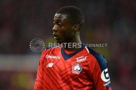 Liverpool dan MU rebutan pemain Lille, Nicolas Pepe