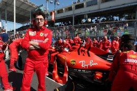 Binotto puji performa Ferrari di Baku meski kalah dari Mercedes