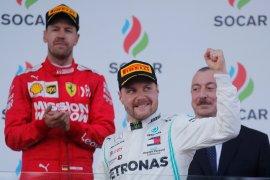 Bottas puas nikmati kesuksesan di GP Azerbaijan