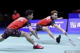 Minions dan The Daddies lolos ke putaran kedua Japan Open 2019