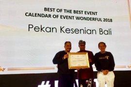 Pesta Kesenian Bali raih penghargaan Kemenpar
