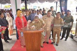 Bupati Tapteng resmikan gedung rawat inap RSUD Pandan