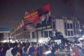 Baliho Prabowo-Sandi di Cileungsi Bogor batal diturunkan