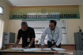 Tingkatkan layanan, PLN Bangka jalin kerjasama dengan Kejari Bangka Tengah