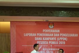 Gerindra laporkan dana kampanye Rp134 miliar ke KPU