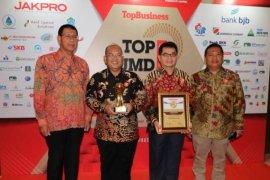 """PT BPR Kutim raih penghargaan """"Top BUMD 2019"""""""