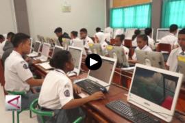 20.458 siswa Papua ikuti UNBK SMA