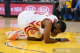 Mata Harden berdarah, Rockets kembali kalah melawan Warriors