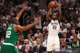 Menangi gim kedua, Milwaukee Bucks imbangi Celtics 1-1