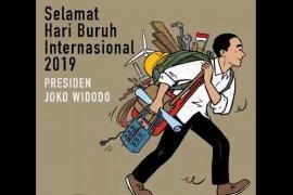 Ini pesan Presiden dalam peringatan Hari Buruh Internasional
