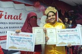Lomba berpidato Bahasa Indonesia digelar di Mesir