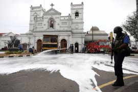 Pengadilan Sri Lanka memerintahkan tes DNA pengebom Minggu Paskah