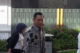AHY bertemu Presiden Jokowi di Istana